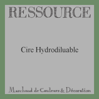 Cire Hydrodiluable